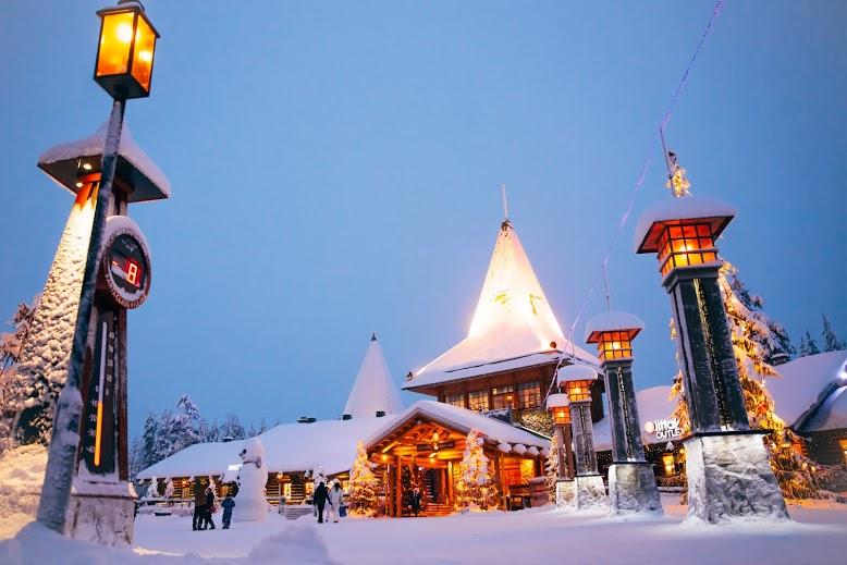 Rovaniemi Finlandia atrakcje dla dzieci