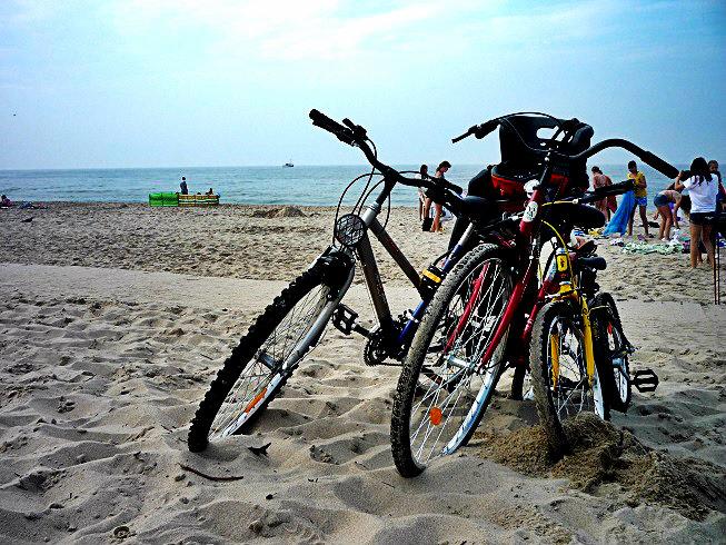 Gdańsk rowerem z dzieckiem
