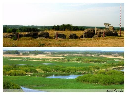 ruiny schronu Góra Strękowska