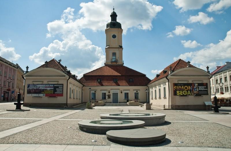 Rynek Kościuszki Białystok atrakcje opinie