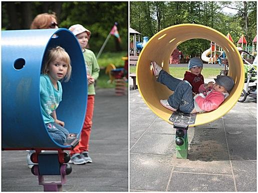 s najmłodszych bujaki 2 plac zabaw Wejherowo dla dzieci