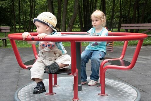 s najmłodszych karuzela plac zabaw Wejherowo dla dzieci