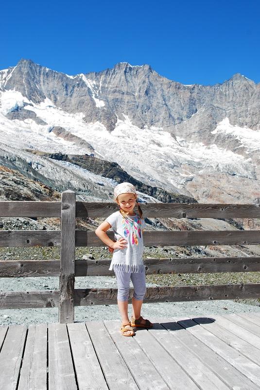 Saas Fee wczasy z dzieckiem Szwajcaria opinie