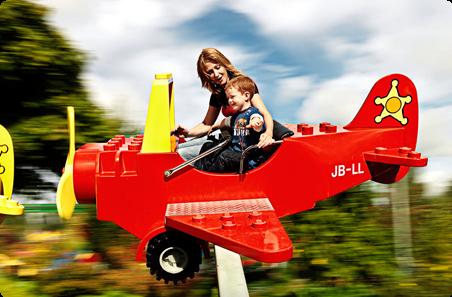 Samoloty Duplo atrakcje Kraina Duplo