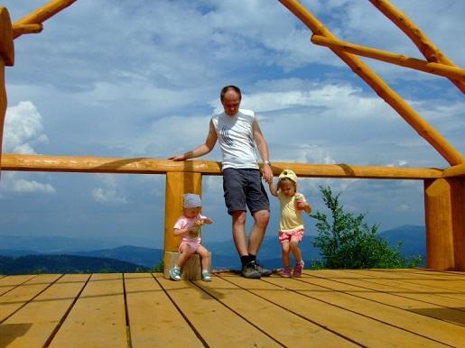 Schronisko - góry z dzieckiem