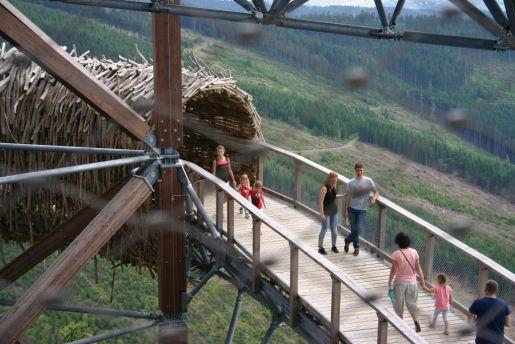 Skywalk Czechy rodzinne atrakcje