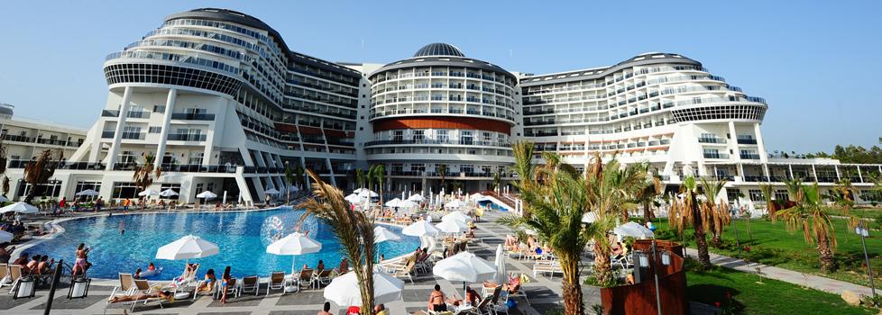najlepszy hotel dla dzieci Side Turcja