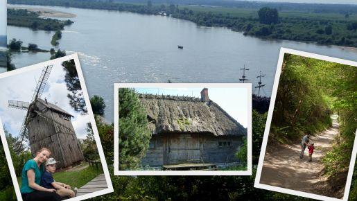 wiatrak Kazimierz Dolny rodzinne atrakcje
