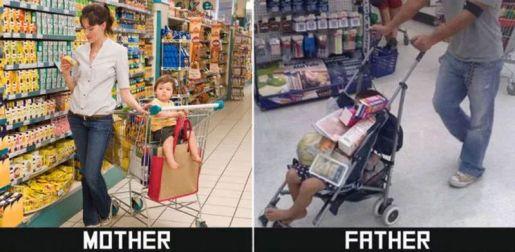 dzieci z tatą i mamą zabawne zdjęcia