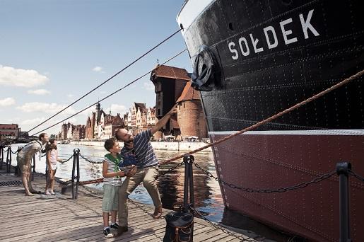 Sołdek Statek Muzeum - Gdańsk atrakcje dla dzieci