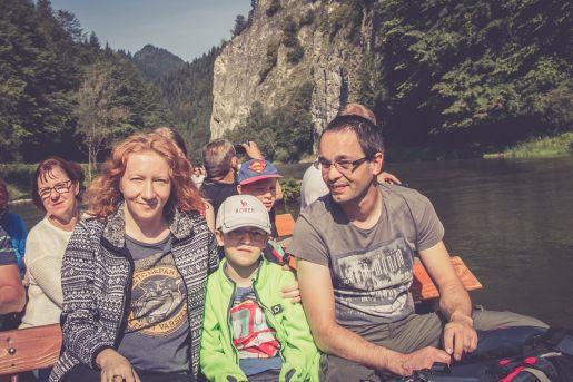 Spływ Dunajcem z dzieckiem opinie atrakcje