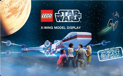 Gwiezdne Wojny atrakcje Legoland Dania