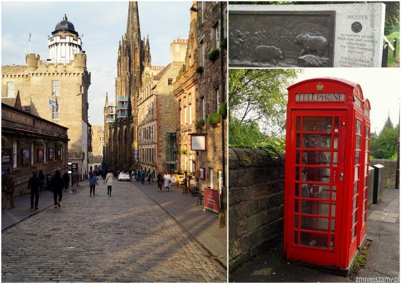 Stare Miasto Edynburg wycieczka z dzieckiem