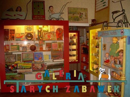 Galeria starych zabawek dla dzieci Gdańsk
