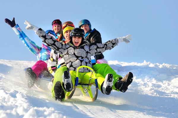 narty z dziećmi Słowacja