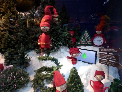 ozdoby świąteczne w Sztokholmie