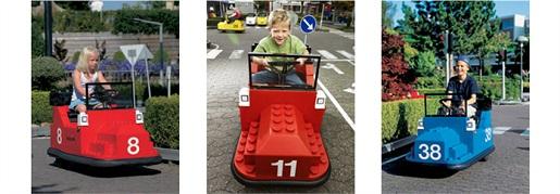 atrakcje Legoland - szkoła jazdy Seat