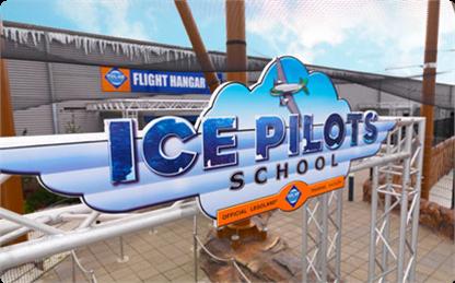 Szkoła lodowych pilotów Kraina Polarna
