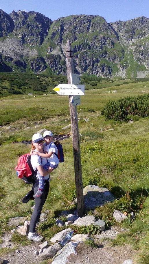 szlak na Szpiglasowy Wierch - Przełęcz - schronisko (1)