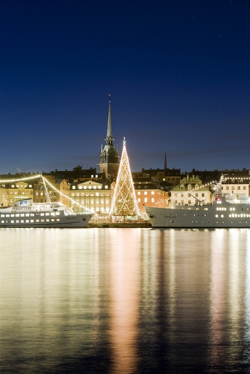 Sztokholm w grudniu