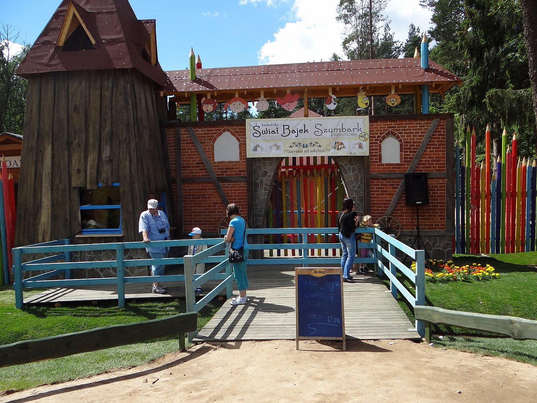 rodzinne atrakcje Kaszuby park linowy