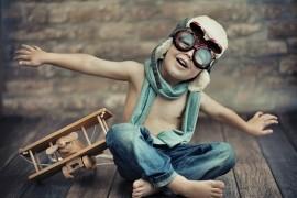 Tanie latanie samolotem z dzieckiem