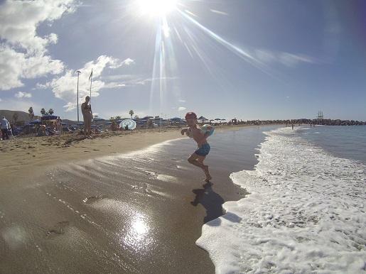 Playa de las Vistas Teneryfa