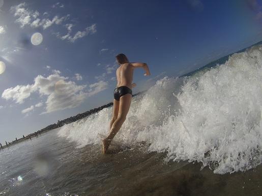 Playa de las Vistas Teneryfa plaża