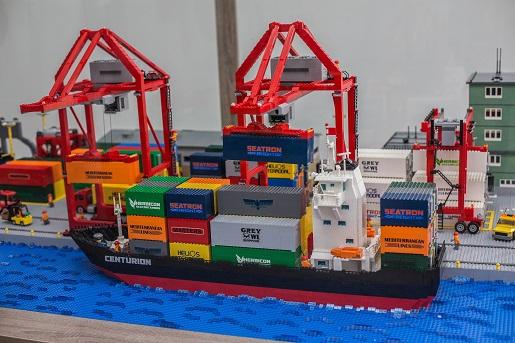 Terminal Kontenerowy z LEGO