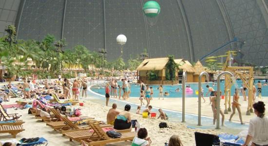 aquapark Tropikalna Wyspa Belin park rozrywki