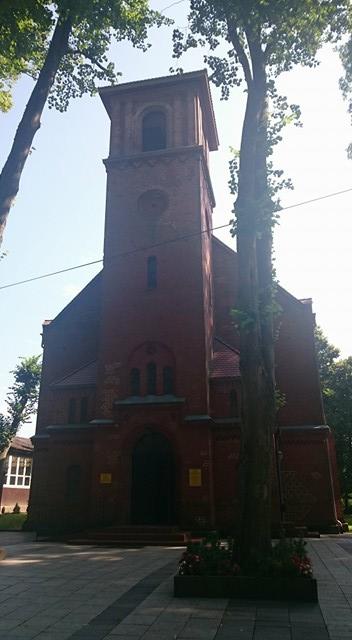 trzęsacz kościół