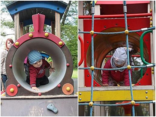 tunele plac zabaw Wejherowo dla dzieci