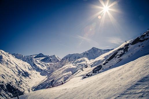 co zobaczyć zima w Alpach w Austrii atrakcje Tyrol