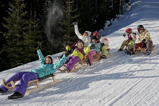 saneczkarstwo Tyrol atrakcje dla dzieci