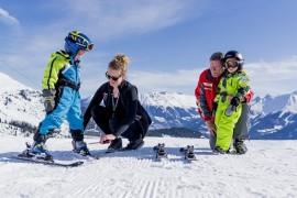 Serfaus, Take Off - Snow & Fun Center Skiverleih