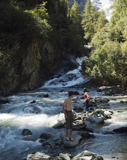wodospady Tyrol Austria rodzinne atrakcje