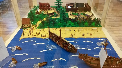 ustka wystawa lego klocki budowle