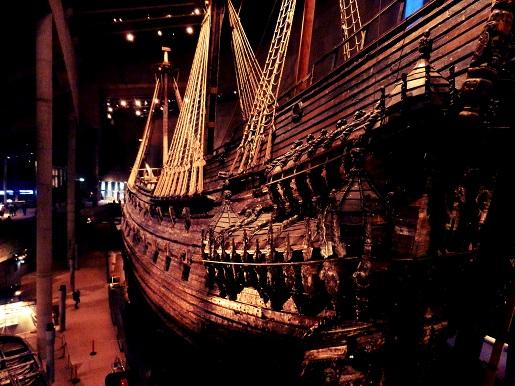 vasa museum -statek
