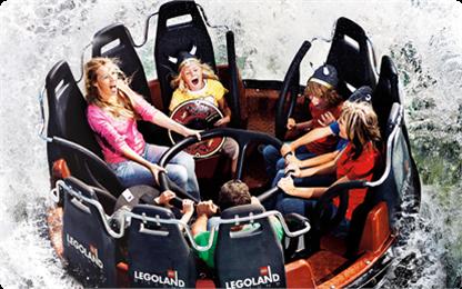 łódki Królestwo Rycerzy Legoland Dania