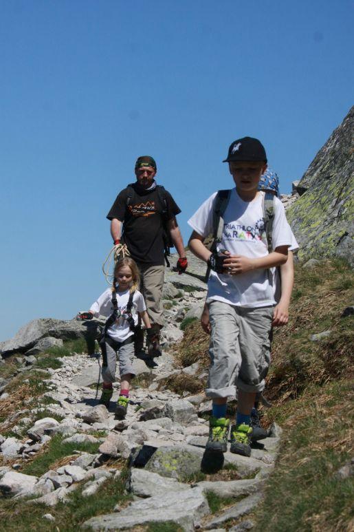 kościelec wycieczka z dziećmi Tatry