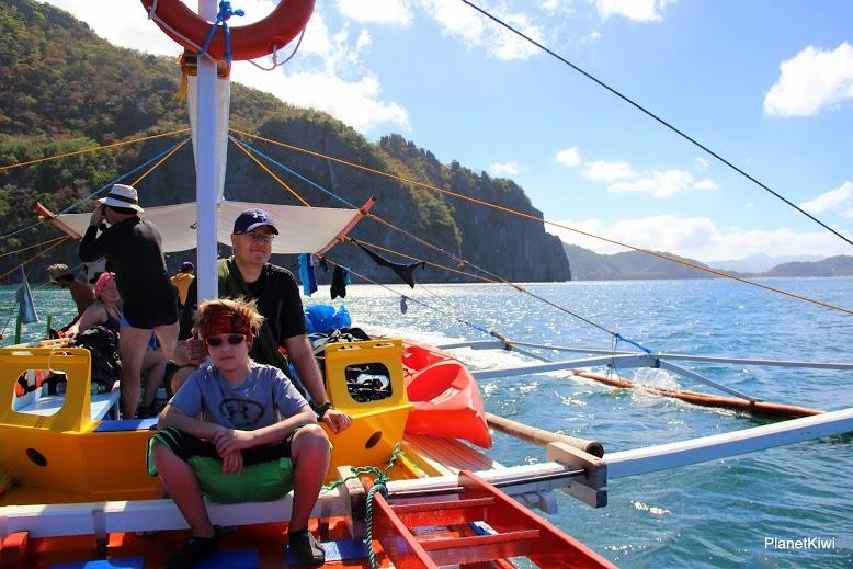 Filipiny El Nido rejs