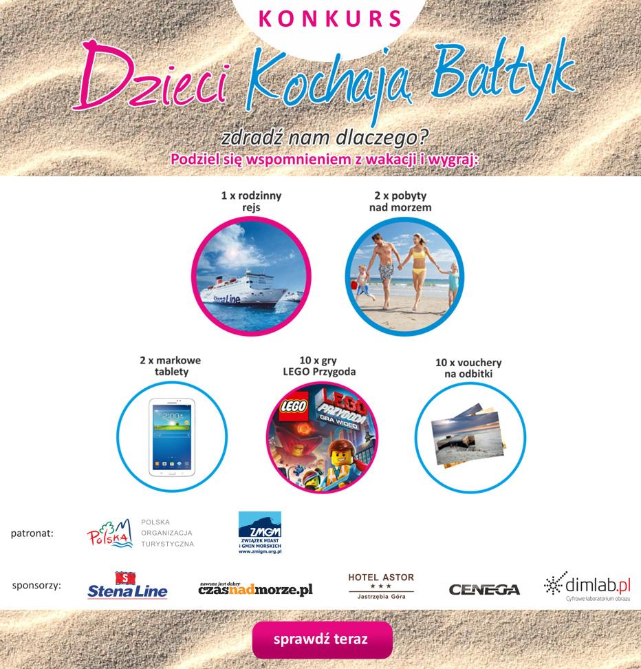 Wakacje z dziećmi nad morzem - Konkurs