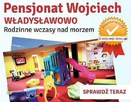 Wakacje z dzieckiem Władysławowo Pensjonat Wojciech