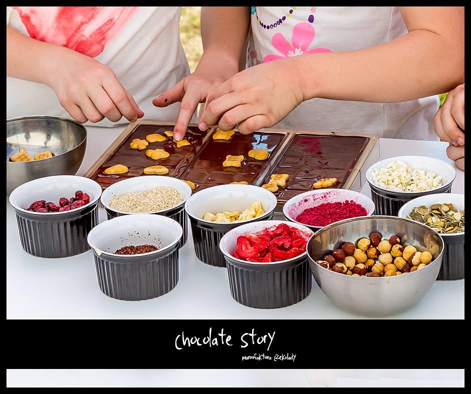 warsztaty czekolady dla dzieci Łódź