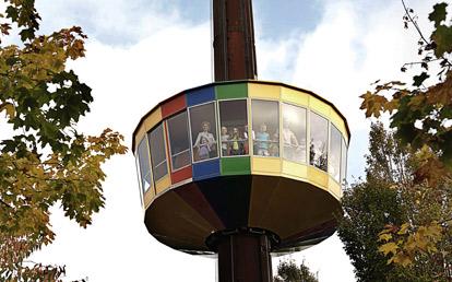 wieża widokowa LEGOLAND