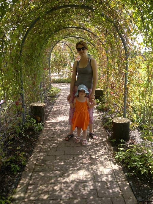 wiosna atrakcje dla dzieci Śląsk - ogrody botaniczne