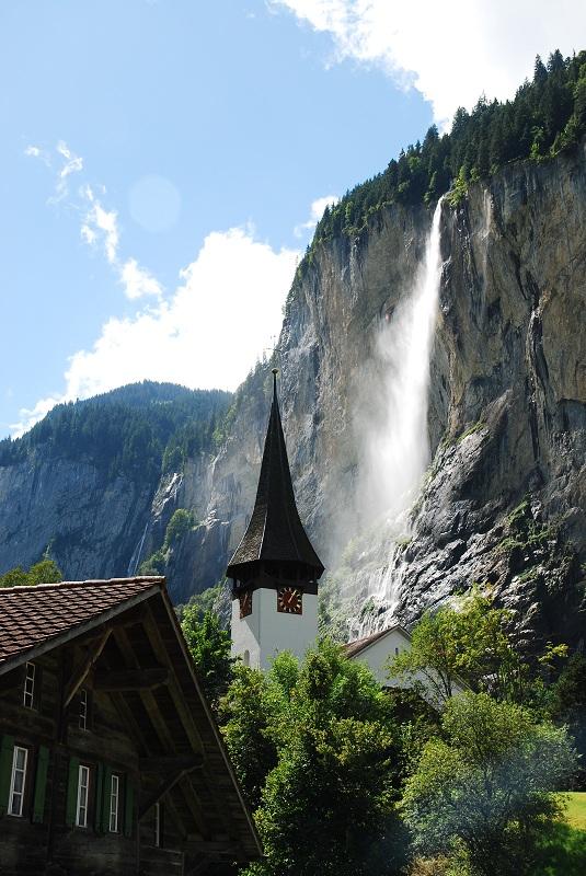 atrakcje dla dzieci Berneński Oberland wodospady