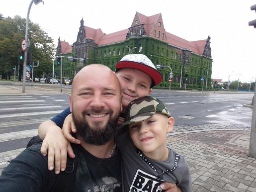 wspomnienie z wakacji - wrocław 2017 z dziećmi