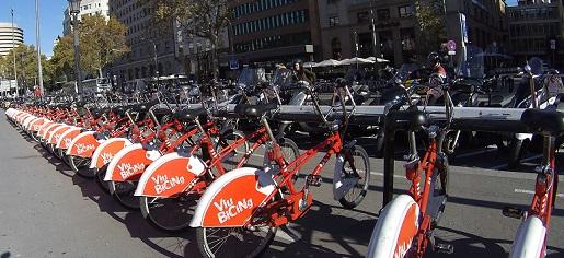 wypożyczalnia rowerów Barcelona