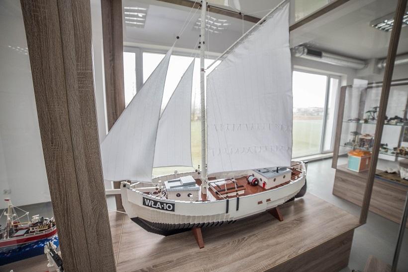 Wystawa budowli z klocków LEGO USTKA